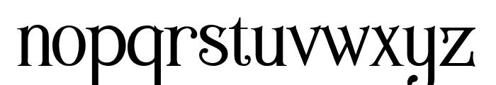 Wallington Regular Font LOWERCASE