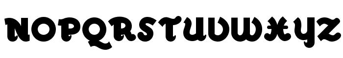 Walrus Gumbo NF Font UPPERCASE