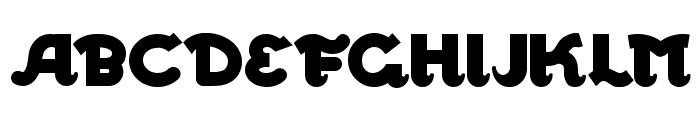 WalrusGumbo Font UPPERCASE