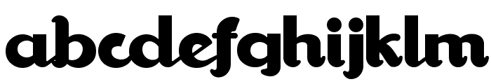 WalrusGumbo Font LOWERCASE