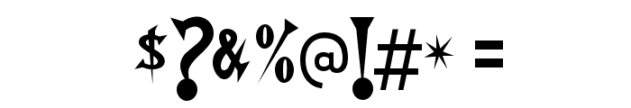 Walshes-Regular Font OTHER CHARS