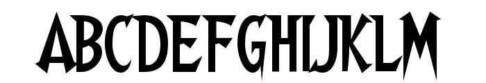 Walshes-Regular Font UPPERCASE
