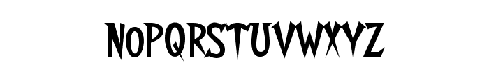 Walshes Font LOWERCASE