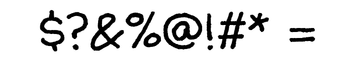 Walter Turncoat Font OTHER CHARS