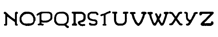 WandaFontRegular Font UPPERCASE