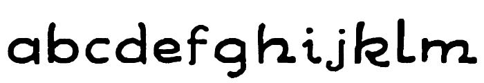 WandaFontRegular Font LOWERCASE