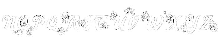 Wander Font UPPERCASE