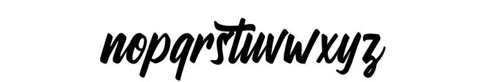 Wandertucker Font LOWERCASE