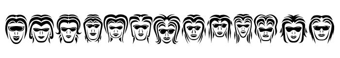 Wanita Regular Font LOWERCASE