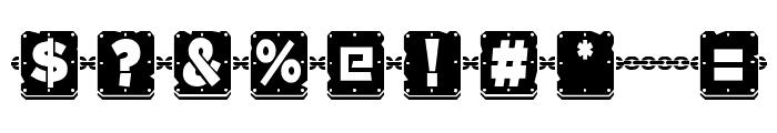 Waponi Font OTHER CHARS