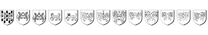 WappenAltUndNeu Font UPPERCASE