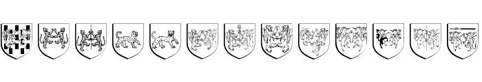 WappenAltUndNeu Font LOWERCASE