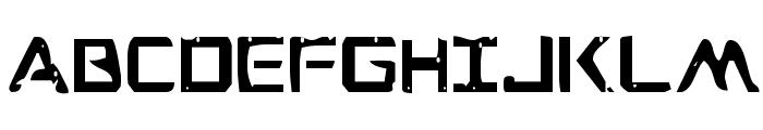War Eagle Condensed Font UPPERCASE