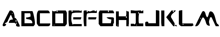 War Eagle Condensed Font LOWERCASE