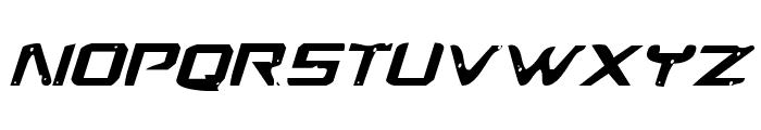 War Eagle Italic Font LOWERCASE