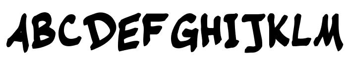 Warehouse Regular Font UPPERCASE