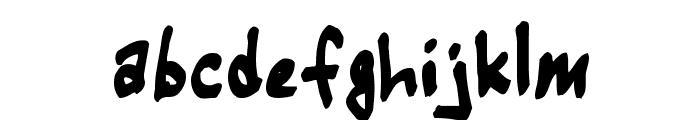 Warehouse Regular Font LOWERCASE