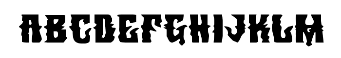 Warlock's Ale Expanded Font LOWERCASE