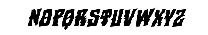 Warlock's Ale Rotalic Font UPPERCASE