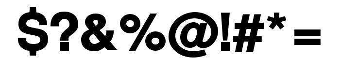 Warownia Black Font OTHER CHARS