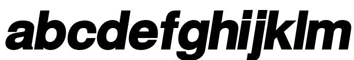 Warownia Ultra Obl Font LOWERCASE