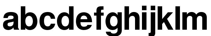Warownia Font LOWERCASE
