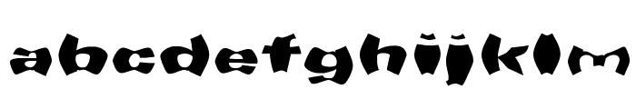 WarpSpeed Font LOWERCASE
