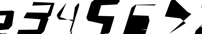 WarpStorm Font OTHER CHARS
