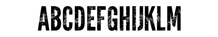 Warpaint Font UPPERCASE