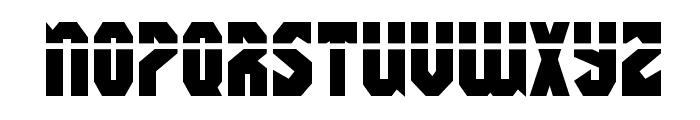 Warrior Nation Laser Regular Font UPPERCASE