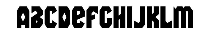 Warrior Nation Regular Font LOWERCASE