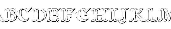 Wars of Asgard 3D Font UPPERCASE