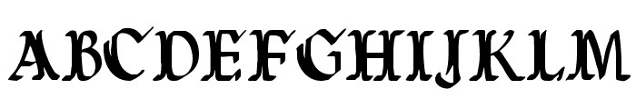Wars of Asgard Condensed Font UPPERCASE