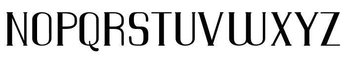 WarsawCourier Font UPPERCASE