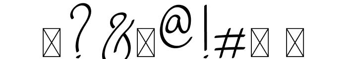 Warsini Font OTHER CHARS