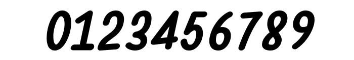Warung Kopi Bold Italic Font OTHER CHARS