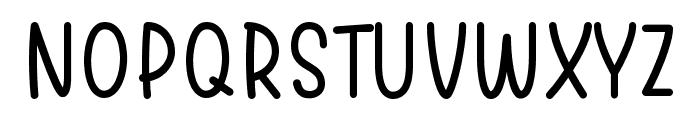 Warung Kopi Light Font UPPERCASE