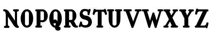 Waschkueche Grob Ultra Font UPPERCASE