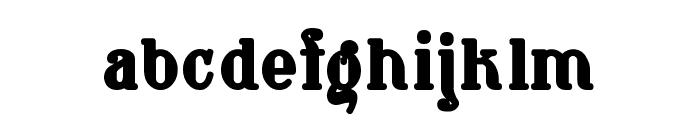 Waschkueche Grob Ultra Font LOWERCASE