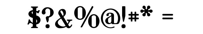 Waschkueche Regular Font OTHER CHARS