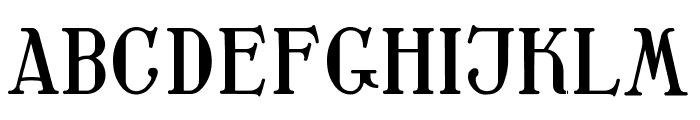 Waschkueche Regular Font UPPERCASE
