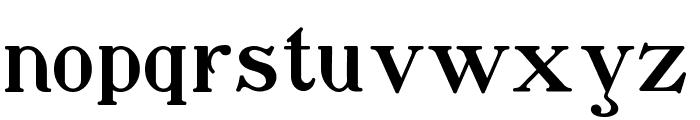 Waschkueche Regular Font LOWERCASE