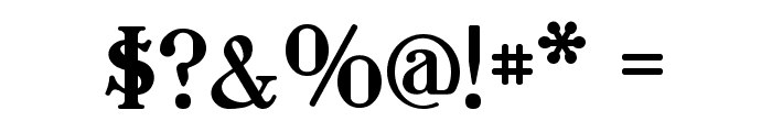 Waschkueche Font OTHER CHARS
