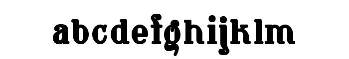 WaschkuecheGrob-Ultra Font LOWERCASE