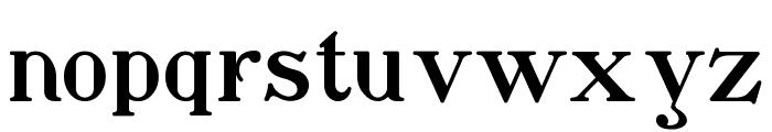 Waschkueche Font LOWERCASE
