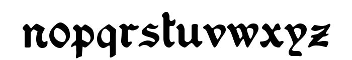 Washington Text Alternates Font LOWERCASE