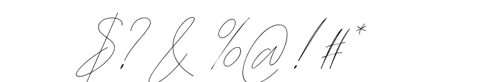 Washington free Font OTHER CHARS