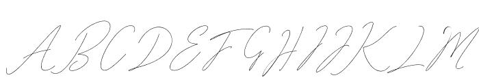 Washington free Font UPPERCASE