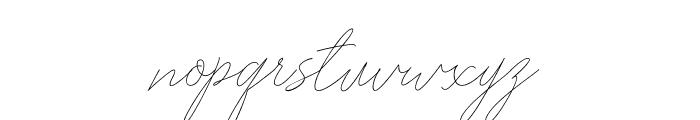 Washington free Font LOWERCASE