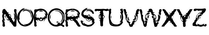Wasser Font UPPERCASE